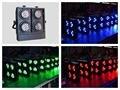2pcs/Lot, Four Eyes 48x3W RGB LED Blinder Light 48pcs 3w Stage disco lighting wash wall