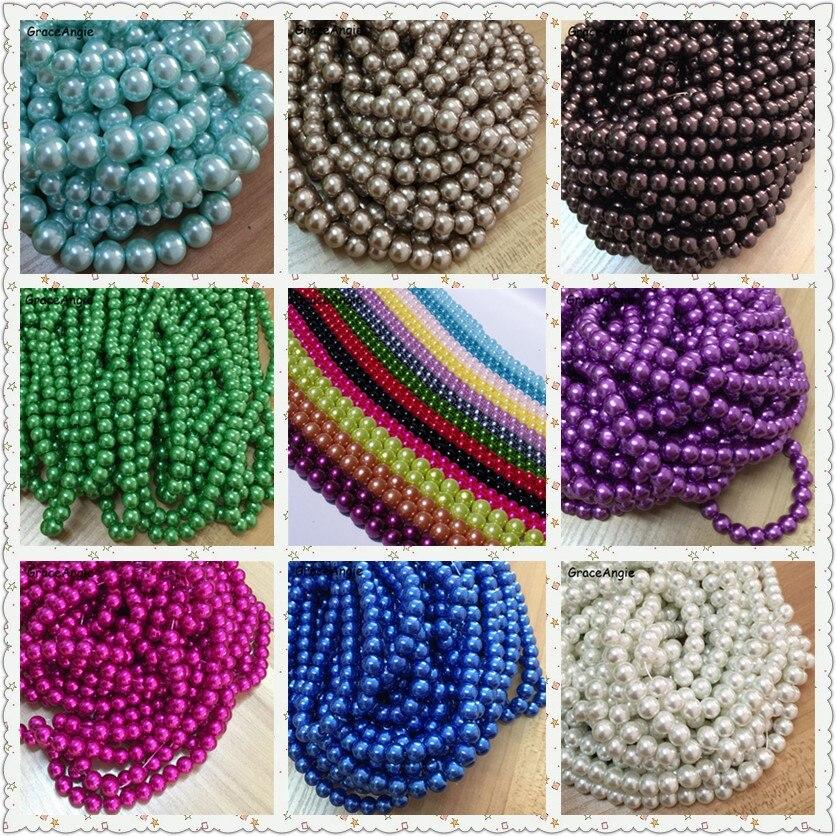 Porcelaine Perles Rondes 10 mm Blanc//Violet 10 Pcs Art Hobby Fabrication de Bijoux Artisanat