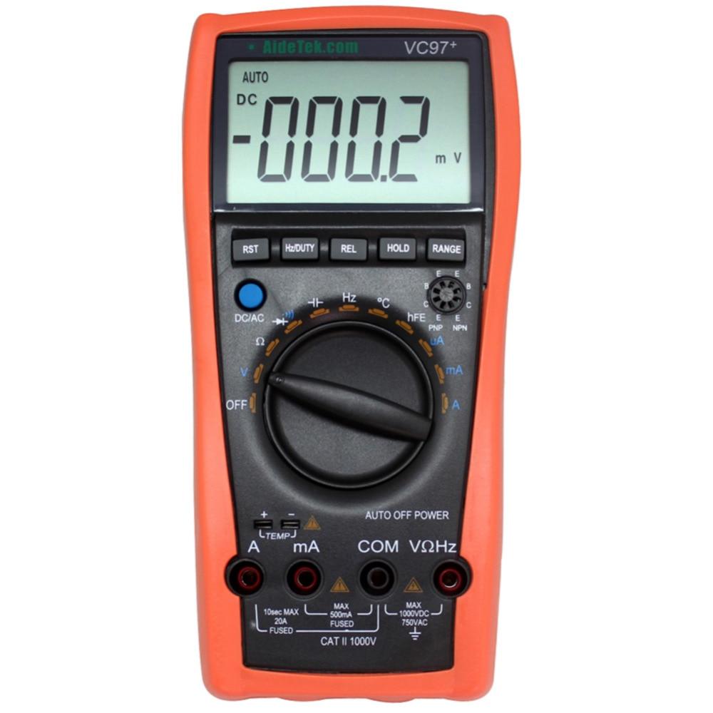 Ac Dc Voltmeter : Aliexpress buy aidetek vc auto range dmm ac dc