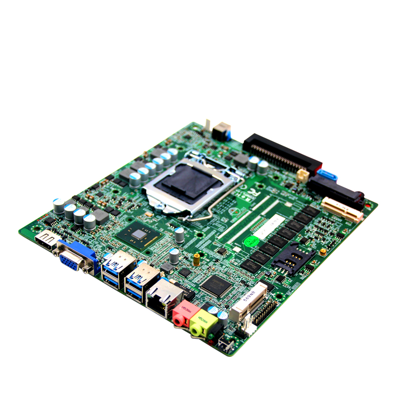 Mini itx motherboard with OPS interface for digital signage digital signage ops box machine motherboard digital whiteboard barebone system pc ops mainboard