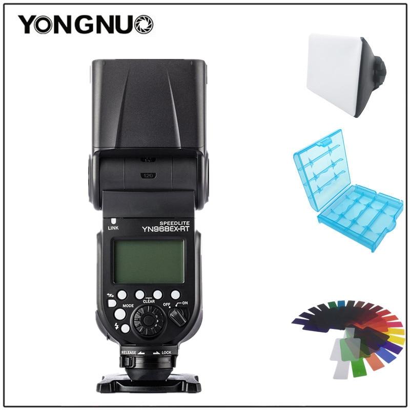 все цены на YONGNUO YN968EX-RT LED Wireless Flash Speedlite Master TTL HSS for Canon 1D III 5DIII 6D 7DII 60D 1200D 1100D 1000D 700D 650D онлайн