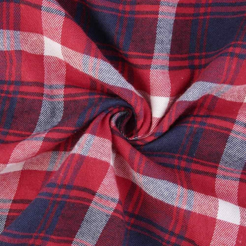 女性の格子縞のパッチワーク Tシャツ春ゆるいカジュアルなステッチカラー長袖プルオーバー女性トレーナーファム O ネック Blusa