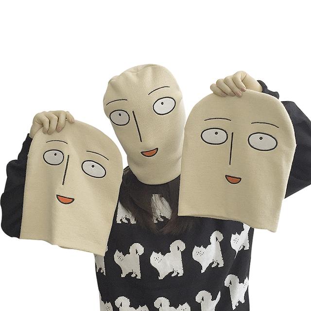 One Punch Man Bald Saitama Hot Sale Warm Hip Hop Women Men Knitted Casual Hat