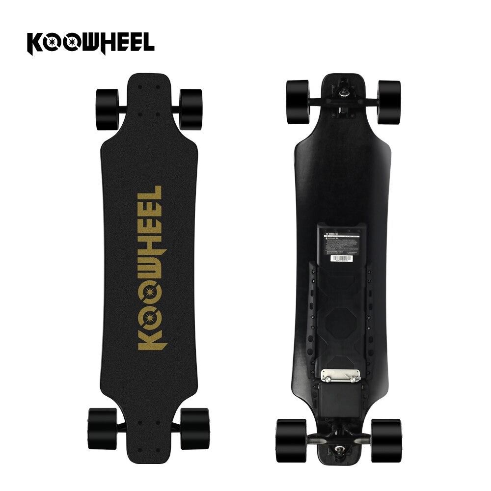 2019 Koowheel planche à roulettes électrique 2nd mise à niveau Gen 5500 mAh batterie 4 roues électrique Longboard double moteur planche à roulettes pour adulte