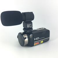 China full hd 1080p digital video camera professional 24mp 16x zoom 3'' touch screen video camera support night vision camcorder