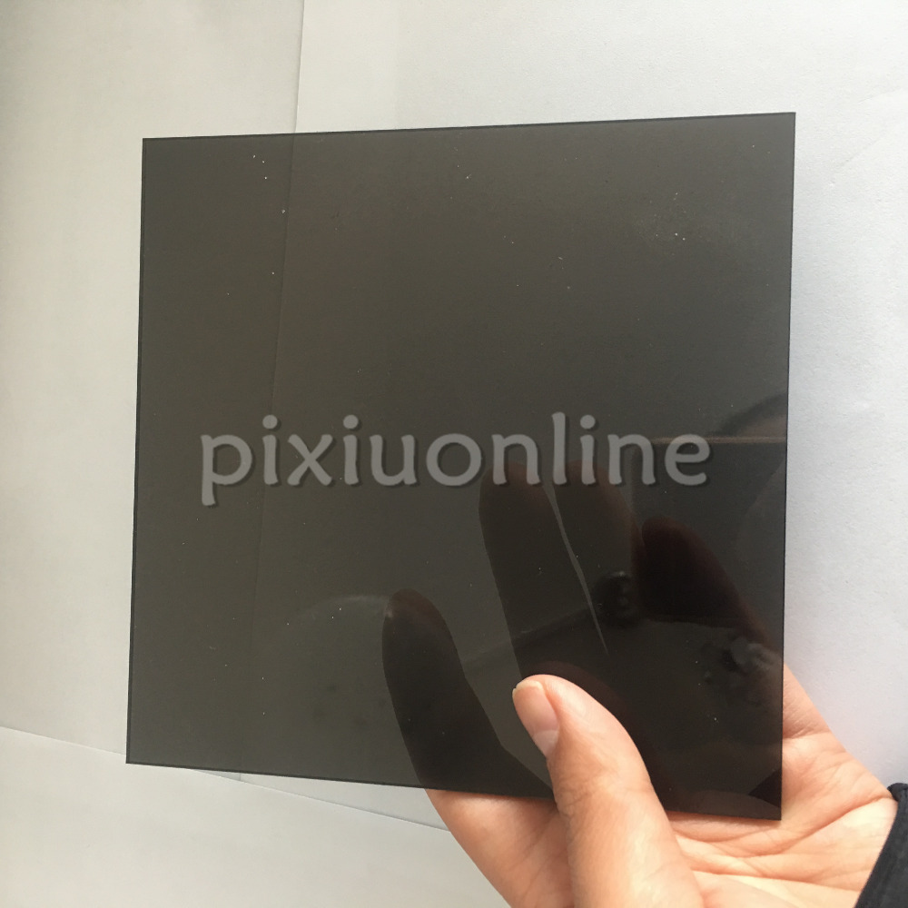 J590b Transparent Acrylic Board Black Super Clear High Quality 15*15cm Square Plastic Sheets Sale At A Loss USA Canada