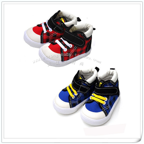 Children shoes baby soft outsole toddler shoes light canvas shoes male child female single shoes es1102
