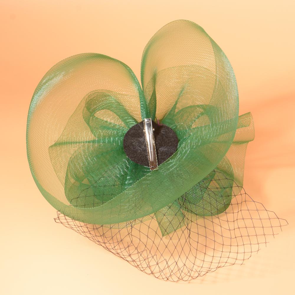 4f46ec74 Unique Women Rhinestone Veil Hair Fascinator Clip Linen Flower Hat Lady  Hairpin Church Tea Party Wedding Bride Hair AccessoriesUSD 19.69/piece