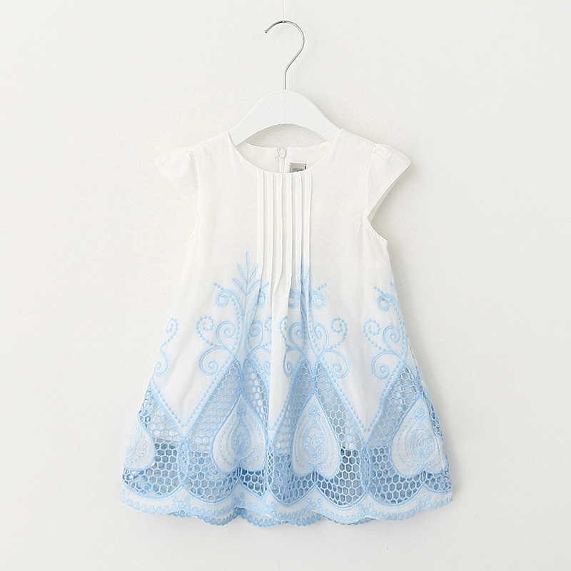 2017 New Summer baby girls dress kids clothes pattern girls dresses children clothing