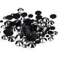 1000 unids 2-5mm Y Tamaños Mezclados Hematite Resina Nail Art No Hotfix Strass Glitter Uñas de Diseño piedras de Decoración