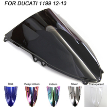 Motorcycle Windscreen Windshield Screws Bolts Accessories For Ducati 1199 1199R 1199S 2012 2013 Iridium Wind Deflectors
