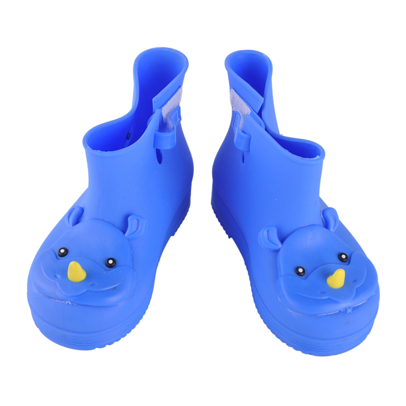 4 Colors Quality Comfortable Soft Children Kids Boots Mini Melissa Rhino Girls Boy Rainboots Duck Jelly