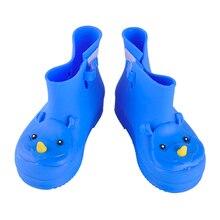 4 цвета качество удобные мягкие Для детей сапоги мини Мелисса носорог мальчиков и девочек резиновая утка прозрачная обувь короткие водонепроницаемая обувь
