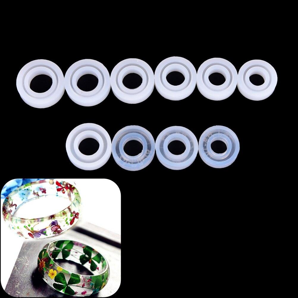 Perlen & Schmuck Machen Schmuck & Zubehör Diy Silikon Ring Formen Für Harz Schmuck Machen Handwerk Epoxy Formen 3 Stile Ring Schmuck Werkzeuge Kunden Zuerst