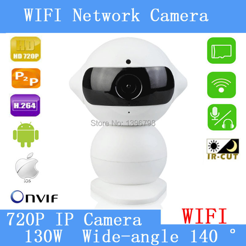 1.3MP câmera de Visão Noturna Mini câmera HD sem fio inteligente robótico remoto P2P WIFI móvel câmeras de vigilância em casa assistindo Jiabao