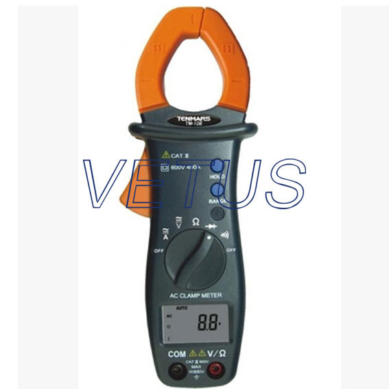 Automatic shift AC digital clamp table Handheld clamp meter TM-12E TM12E ac 3 1 2 lcd display automatic manual shift digital clamp meter tester tm 1012 tm1012