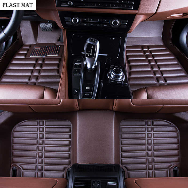 De coche alfombrillas para bmw g30 bmw e90 f10 f01 f25 f30 f45 x1 x3 f25 x5 f15 e30 e34 e60 e65 e70 e83 320i Esteras del coche