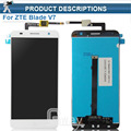 Original new module For Smartphone ZTE Blade V7 lcd display + touch screen assembly