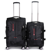 BeaSumore Rolling Luggage Spinner 20/24/28 inch Suitcases Wheel Men Oxford High Capacity Trolley Business Carry On Travel Bag