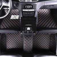 SUNNY FOX Car floor mats for Honda Accord Civic CRV City HRV Vezel Crosstour Fit car styling heavey duty carpet floor liner