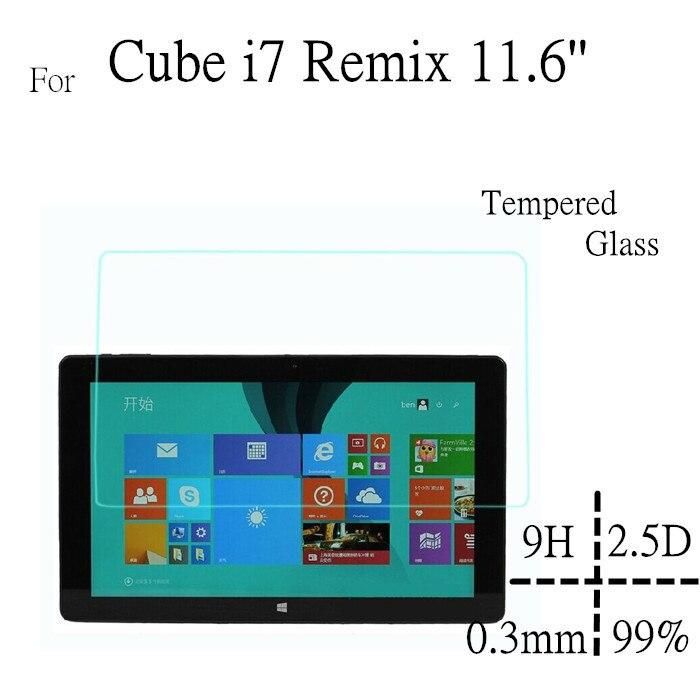I7 Remix 11,6 дюймов Стекло Экран протектор для Cube i7 Remix Стекло Экран защитить фильм