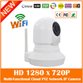 Baby Monitor Hd 720p Wifi Wireless Ip Camera Infrared Night Vision Audio Tf Card Slot Indoor Surveillance Ptz Freeshipping