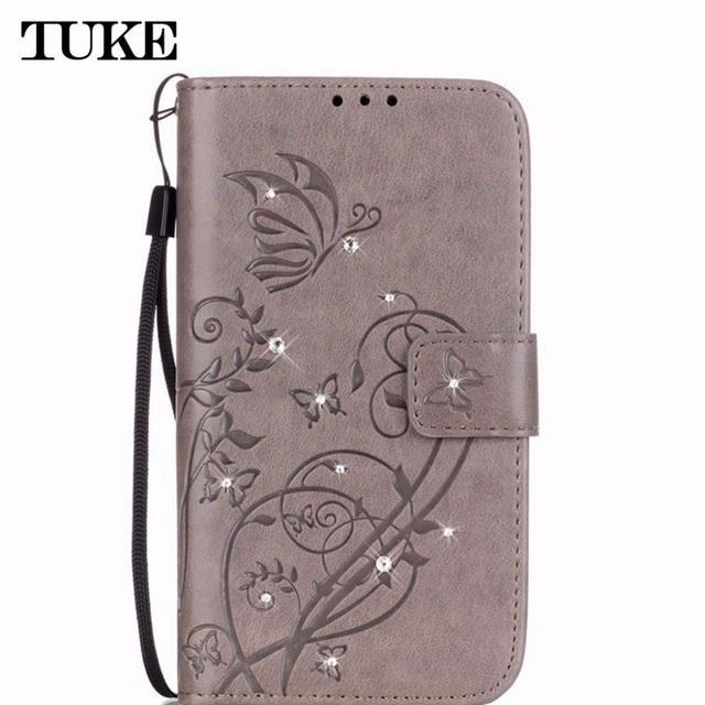 TUKE Leather Case For Samsung Galaxy Core Prime G360 G360F G360H G361 G361F G361H VE SM-G361H SM-G360H SM-G361F Flip Cover