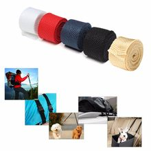 25mmx1M Nylon Webbing Straps DIY Pet Rope Sewing Crafts Backpack Bags Belt Webbing Tape Knapsack Strapping Safety Belt(China)