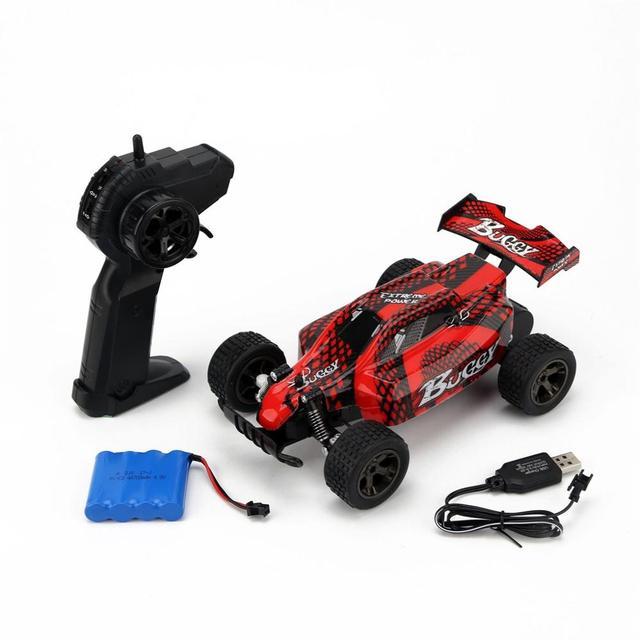 1:18 RC Carro 4WD 2810 2.4G 20 KMH Alta Velocidade Corrida de Controle Remoto Carro de Escalada
