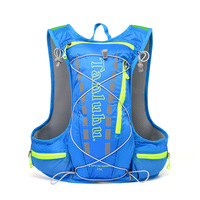 Free Knight Men Bicycle Backpack Outdoor Running Cycling Bag Waterproof Shoulder Rucksack 12L Riding Sport Travel