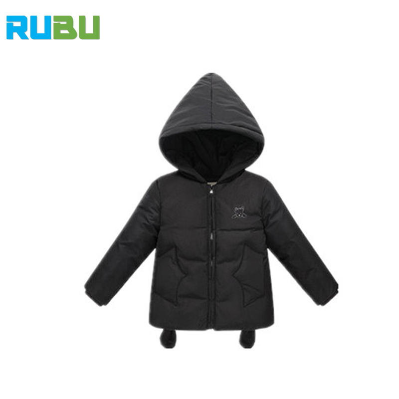 2017 Fashion Girl's Boys Down Coat Winter Russia Baby Clothes Thick Duck Warm Jacket Children Outerwears Hooded Jackets JSB354 russia winter boys girls down jacket boy girl warm thick duck down