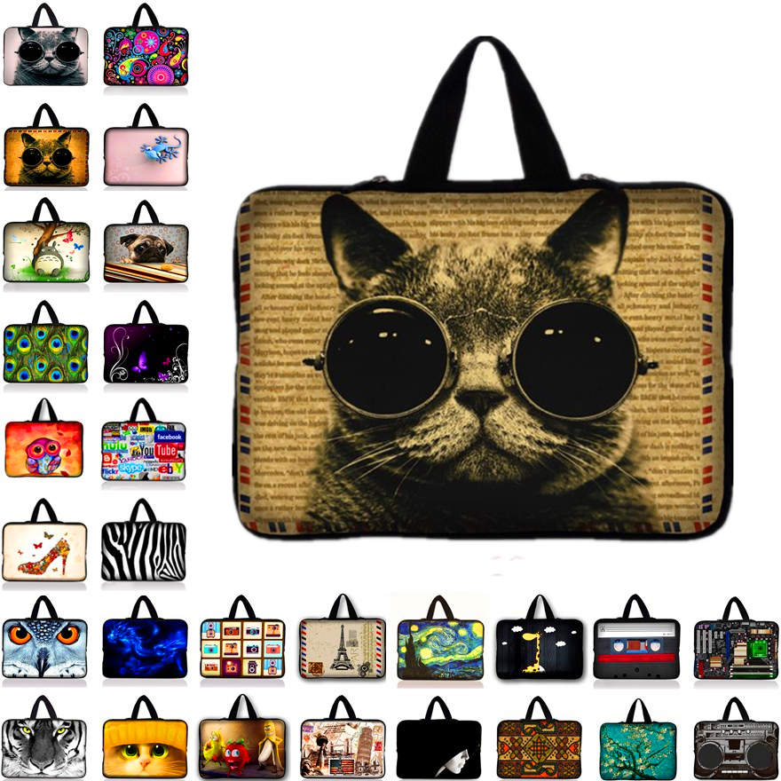 Customizable Neoprene Laptop Bag Tablet Sleeve Pouch For Notebook Computer Bag 7 10 12 13 15 13.3 15.4 17.3 For Macbook IPad X1