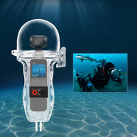DJI OSMO Pocket 60M Depth Waterproof Case Diving Housing Case with Free Selfie Stick Gift for OSMO Pocket Camera Accessories