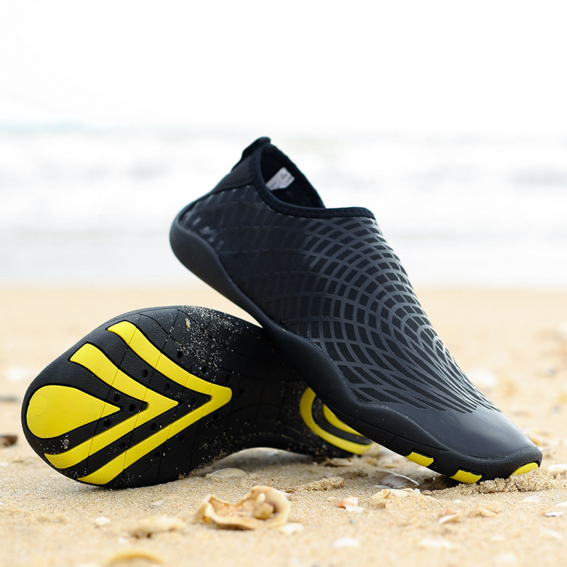 Hot Men Outdoor Sneaker Shoes for Swimming Pool Shoes Women Fishing Aqua Water Shoes Quick drying Wading Barefoot Beach Shoes in Beach Outdoor Sandals from Sports Entertainment