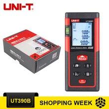 UNI-T UT390B + Лазерные дальномеры + пузырьковый уровень дальномер диапазон UT390B 40 м ручной лазерный дальномер дальномеры