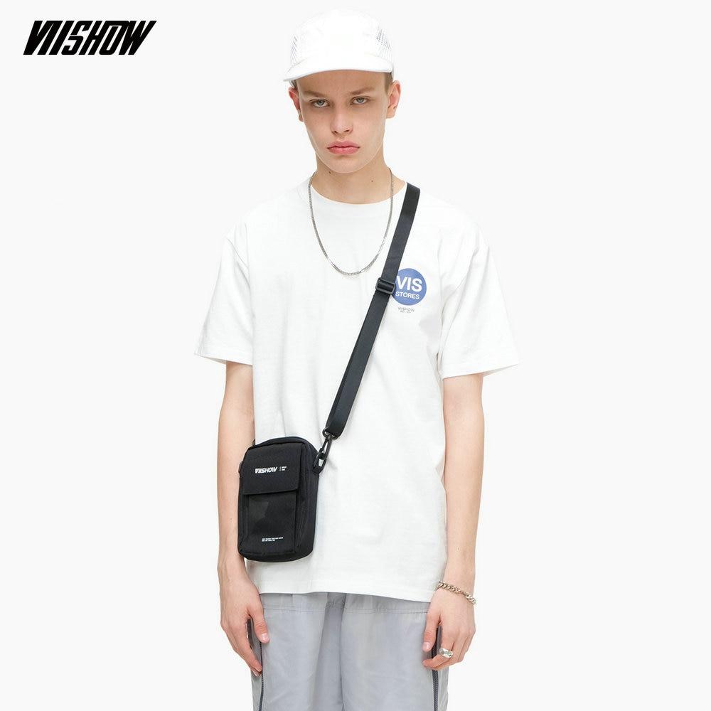 VIISHOW Streetwear Simple Printed Men's T-shirt Brand Casual White t shirt men Tops 2019 Fashion Summer tshirt TDA040192