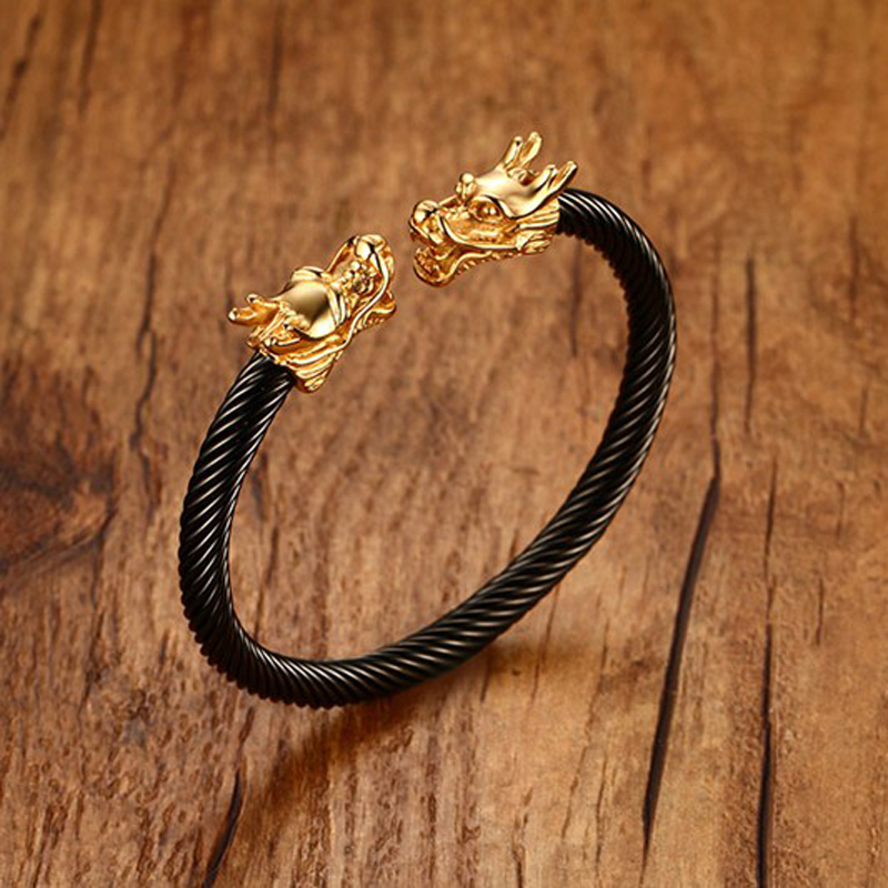 6d9801bf5a929 Buy twisted dragon bracelet and get free shipping on AliExpress.com