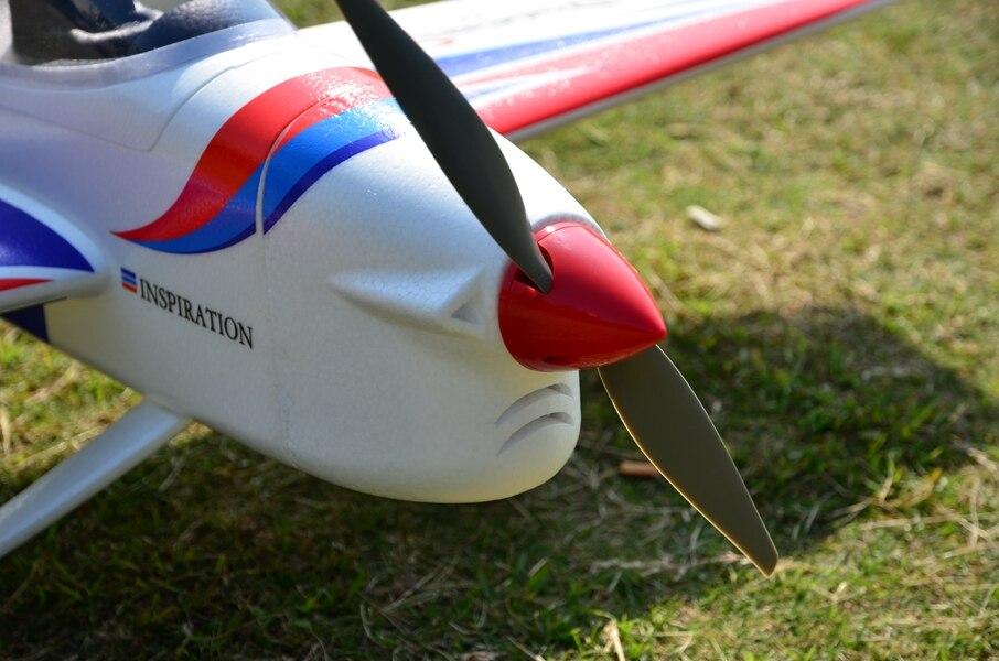 EPO Самолет RC 3A модель самолета хобби 50E 50 класс размах крыльев 1380 мм F3A самолет комплект(только самолет без радио/ESC/SERVO