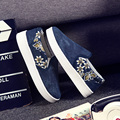 Free shipping Spring and Autumn new denim casual canvas shoes a pedal shoes