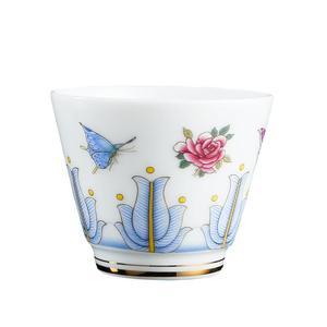 Blue and White Ceramics Teacup