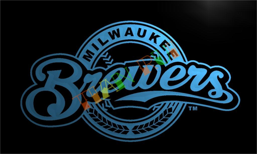 Popular Milwaukee Brewers Neon Sign Buy Cheap Milwaukee Brewers Neon Sign Lots From China