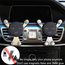 Car Phone Holder For IPhone 6 7 7s Samsung Note 8 S8 S7 S6 Air Vent Mount Mobile Phone Holder Stand Car Mount support Smartphone magnetic air vent car mount holder for iphone 6 6s samsung galaxy s6 s6 edge etc