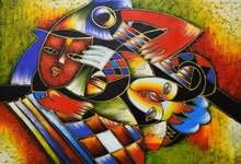 Ручная роспись абстрактная масляная живопись на холсте Современная