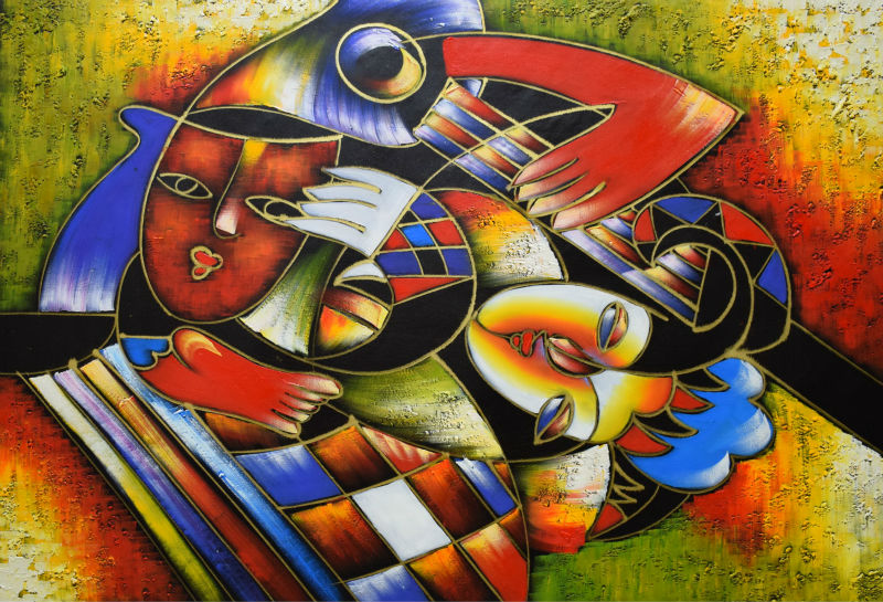 Aliexpress.com : Buy Hand Painted Abstract Oil Painting on