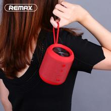 REMAX-RB-M21 Portable Wireless Bluetooth Speaker with Dual Driver IPX5 Waterproof FM Radio TWS AUX Outdoor Speaker цена и фото