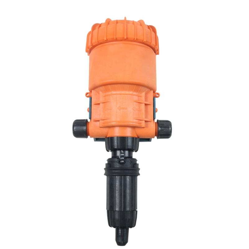 Fertilizer Injector Dispenser Proportioner 0.2-2% (1:50-1:500) 4C-30C , Water-driven Chemical Injector For Fertilizer, Livestock