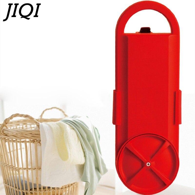 JIQI Новый высокое качество мини стиральная машина, портативный общежитии бытовой путешествия с помощью студента Маленькая детская ткань