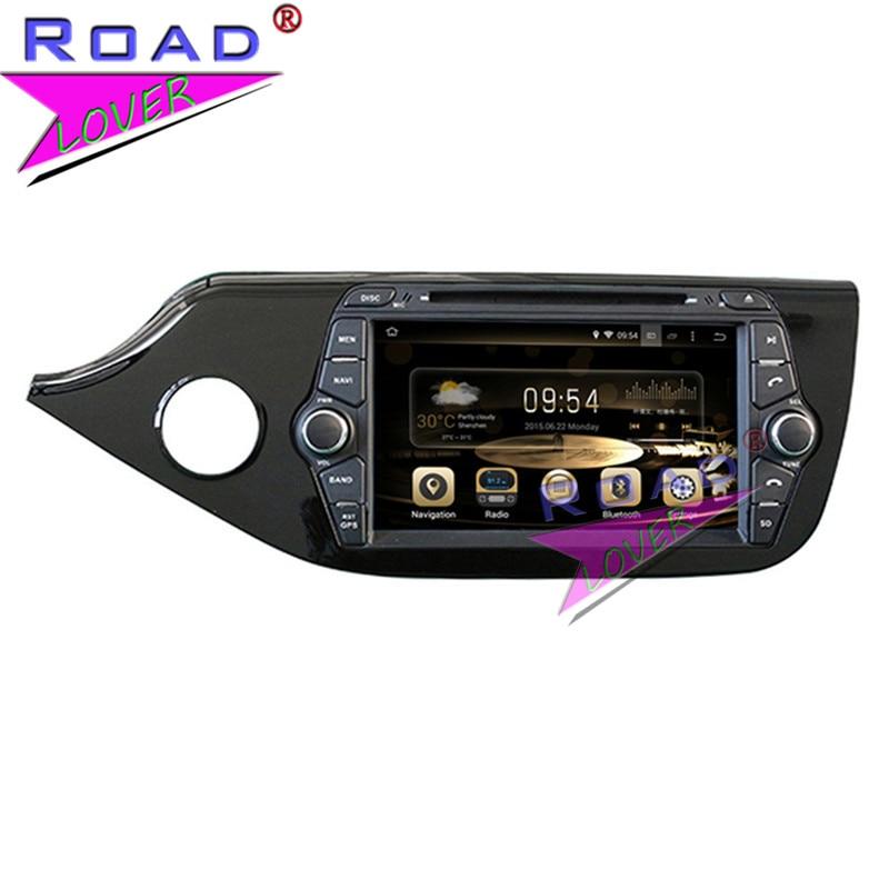 TOPNAVI Octa Core 4G+32GB Android 6.0 Car Media Center DVD Auto Player Video For KIA Ceed 2012- Stereo GPS Navi Capacitive MP4