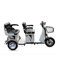 Free shipping 48v 500w differential motor smart three wheel electric scooter/adult e scooter/trottinette electrique adulte