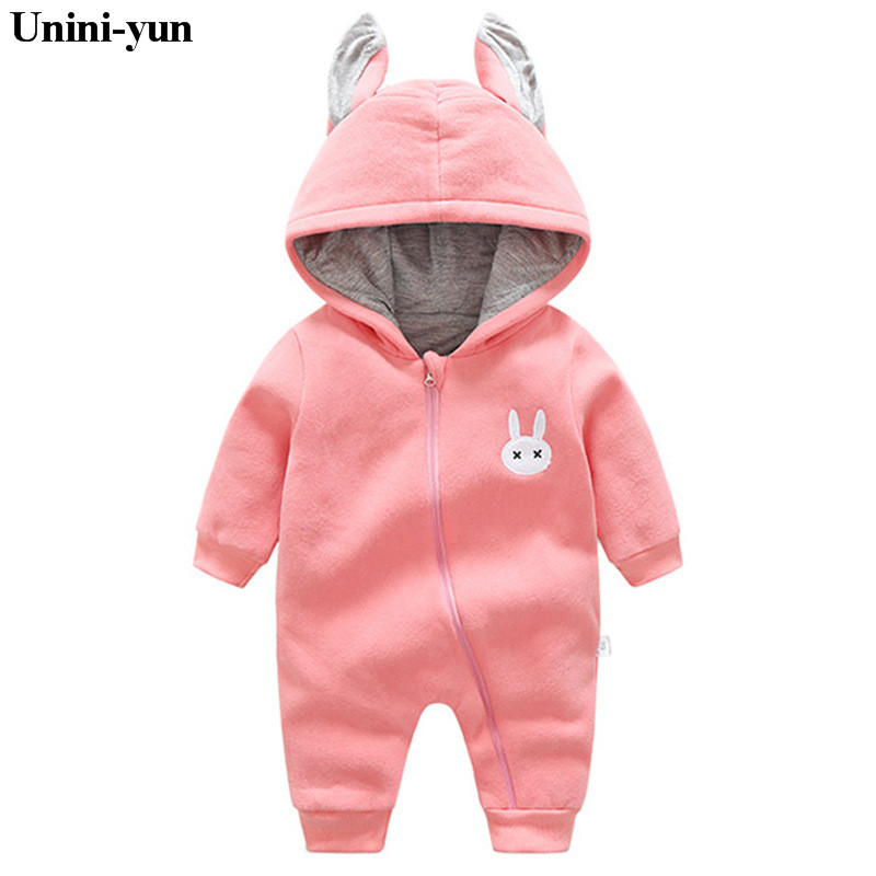 2017 Newborn Baby Clothes Cotton Infant Baby Rompers Boy and Girl Long Sleeve Winter Romper Overalls Baby Clothing Set 6M-18M infant baby girl rompers jumpsuit long sleeve for newborns baby boy brand clothing bebe boy clothes body romper baby overalls